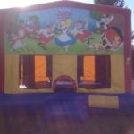 alice in wonderland bouce house