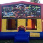 car racing bounce house