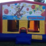curious george bounce house