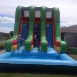 double water slide