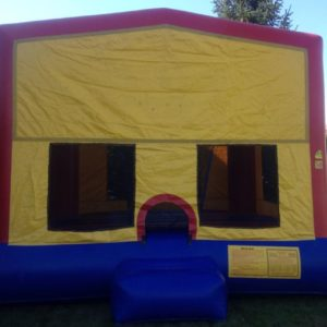 exchangeable face bounce house