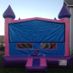 exchangeable face girls bounce house