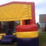 hoop slide bounce house