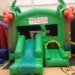 jungle slide bounce house