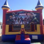 marvel heros bounce house