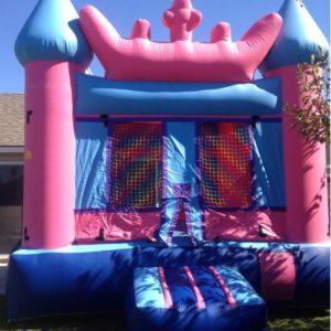 queen castle bounce house