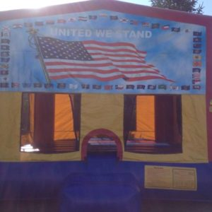 united we stand bounce house